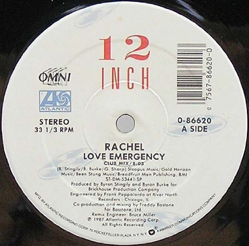 Bild 1: Rachel, Love emergency (Club, 8:03min., 1987, US)
