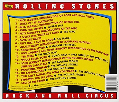 Bild 4: Rolling Stones, Rock and roll circus (1968/95, US)