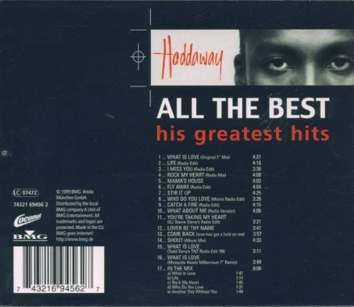 Bild 2: Haddaway, All the best-His greatest hits (1999)