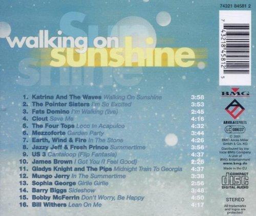 Bild 2: Walking on Sunshine (16 tracks), Katrina & The Waves, Pointer Sisters, Clout, Mezzoforte, US 3, Sophia George..