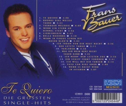 Фото 2: Frans Brauer, Te quiero-Die grössten Single-Hits