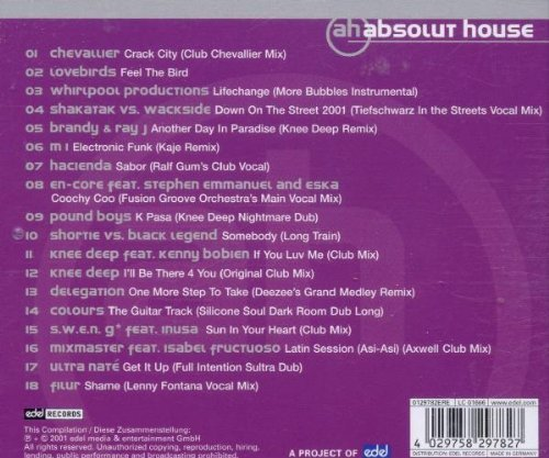 Bild 2: Swen G, Absolut house (2001, mix)