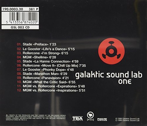 Bild 2: Galactic Sound Lab 1 (1998), Stade, Le Gooster, Rollercone, MGM