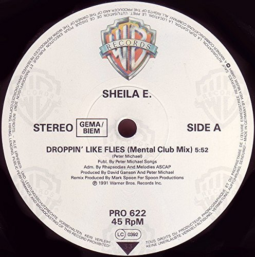 Bild 1: Sheila E., Droppin' like flies (1991, US)
