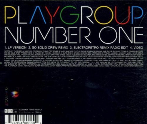Bild 2: Playgroup, Number one (2001)