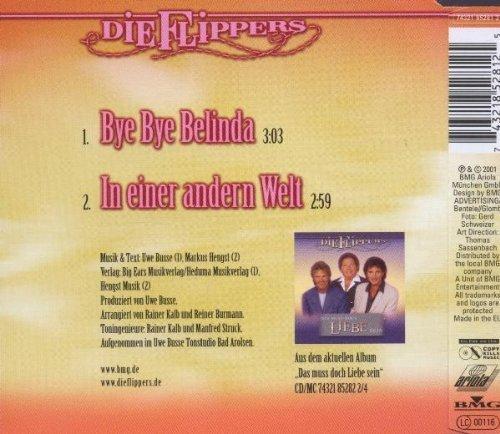 Bild 2: Flippers, Bye bye Belinda (2001; 2 tracks)