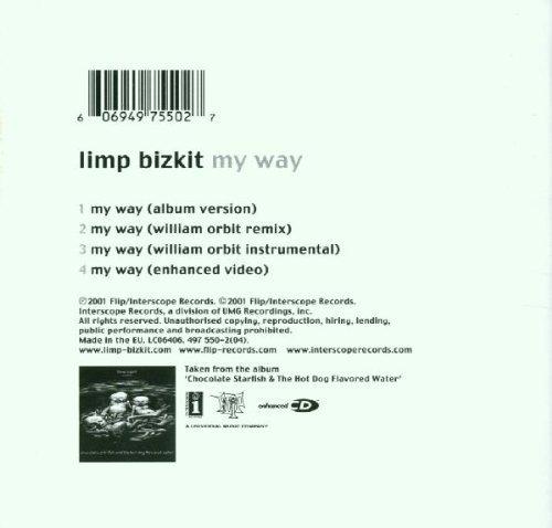 Bild 2: Limp Bizkit, My way (2001, #4975502)