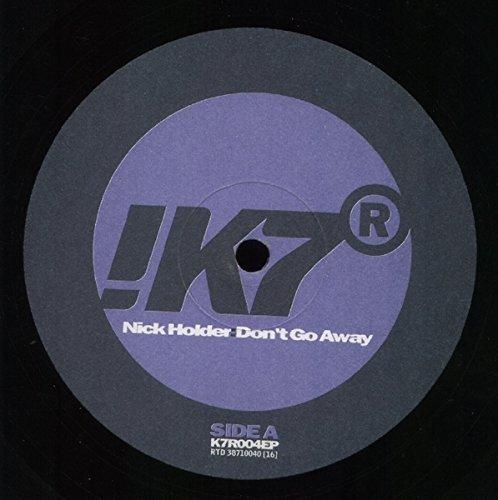 Bild 1: Nick Holder, Don't go away (Remix Ext., 1996)