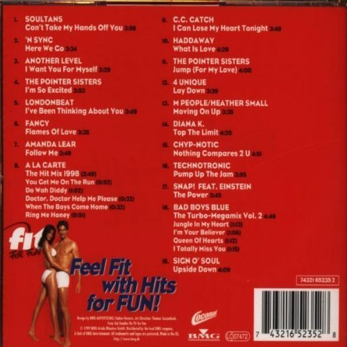 Bild 2: Fit For Fun (1995, incl. Workout-Programm), Juliet Roberts, M People, Judy Cheeks, Zhane, David Morales, Adeva..