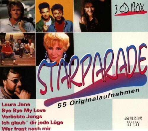 Bild 1: Starparade (55 Originalaufnahmen), Claudia Jung, Andreas Martin, Roy Black, Denise, Helmut Frey, Ibo, Michael Schanze, Fux, Anne Haigis, Trude Herr..