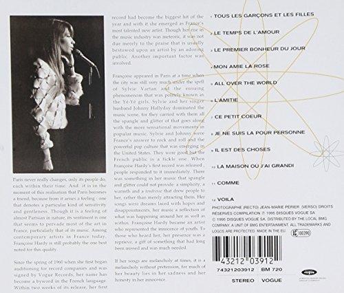 Bild 2: Françoise Hardy, Greatest recordings (1995, Vogue)