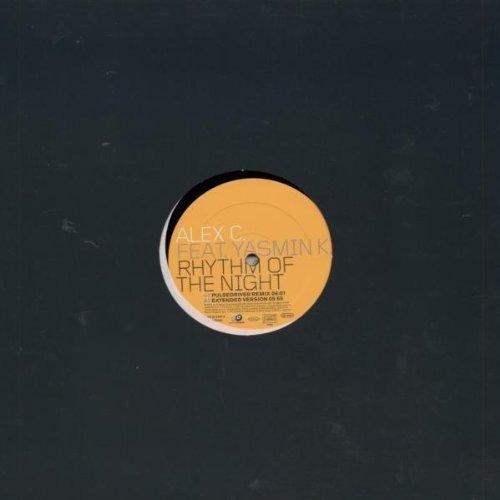 Bild 2: Alex C., Rhythm of the night (Pulsedriver Remix, 2002, feat. Yasmin K.)