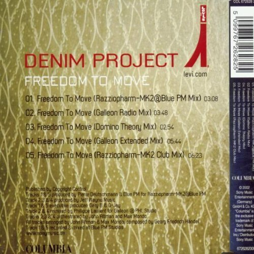 Image 2: Denim Project, Freedom to move (2002)