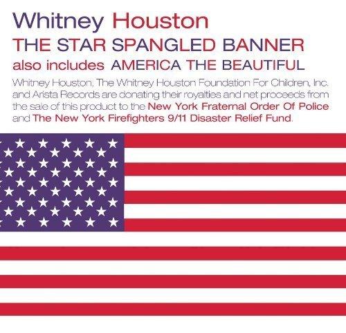 Bild 1: Whitney Houston, Star spangled banner (1991/2001; 2 tracks, cardsleeve)