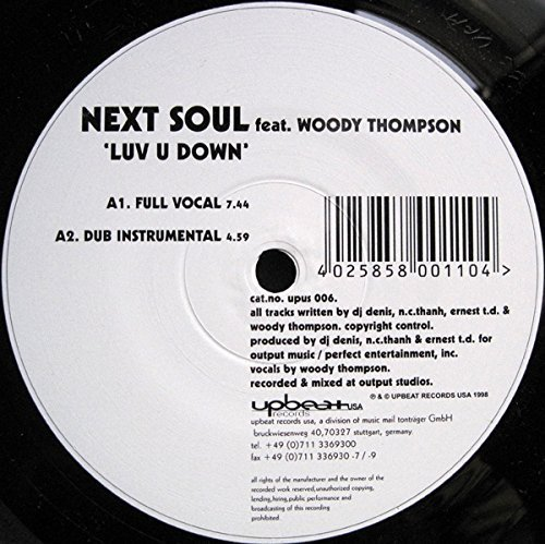 Bild 1: Next Soul, Luv u down (Full Vocal, feat. Woody Thompson)