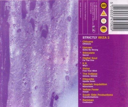 Bild 2: Strictly Ibiza 2 (1999), Chicane, Uptown, Stimulate, Digital Soul, Ramman..