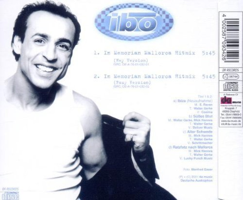 Bild 2: Ibo, In memorian Mallorca Hitmix (2001; 2 versions)