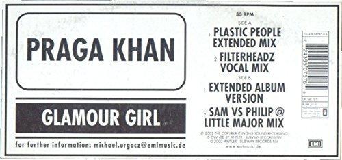 Bild 1: Praga Khan, Glamour girl (Plastic People Ext. Mix, 2002)