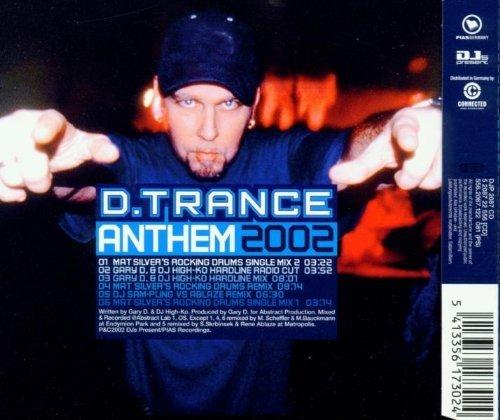 Bild 2: Gary D., D.Trance anthem 2002 (6 versions)