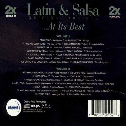 Bild 2: Latin & Salsa at its Best, Celia Cruz, La Plata Sextet, Joe Cuba Sextet, Los Admirables, Johnny Lopez..