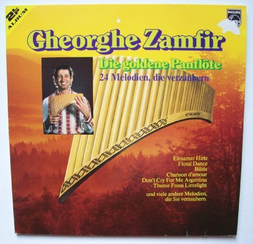 Bild 1: Gheorghe Zamfir, Die goldene Panflöte-24 Melodien, die verzaubern