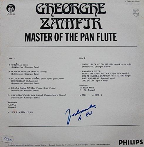 Bild 2: Gheorghe Zamfir, Master of the pan flute