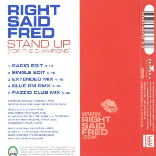 Bild 2: Right said Fred, Stand up.. (2002)
