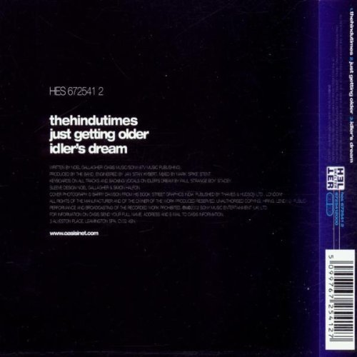 Bild 2: Oasis, Hindu times (2002)
