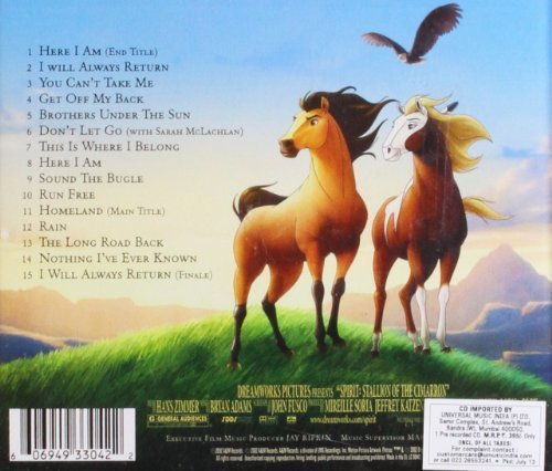 Bild 2: Bryan Adams, Spirit-Stallion of the cimarron (soundtrack, 2002, & Hans Zimmer)