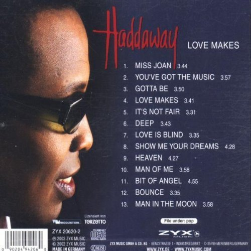 Bild 2: Haddaway, Love makes (2002)