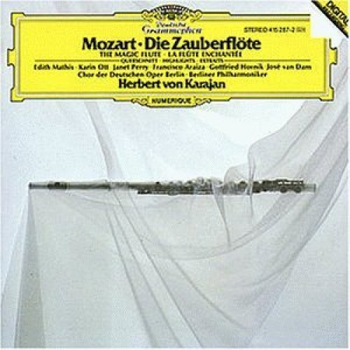 Bild 1: Mozart, Die Zauberflöte-Querschnitt (DG, 1981) (Berliner Philharmoniker/Karajan)