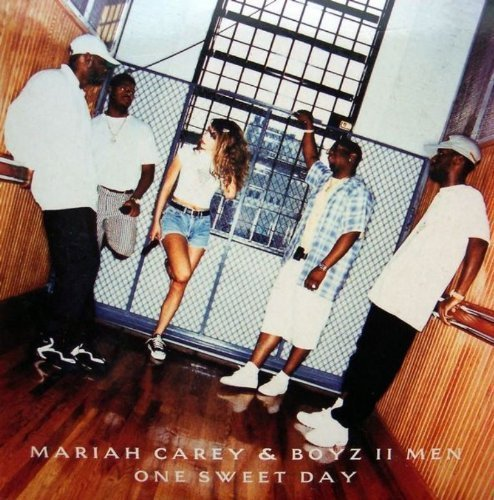 Bild 1: Mariah Carey, One sweet day (1995; 2 versions, cardsleeve, & Boyz II Men)
