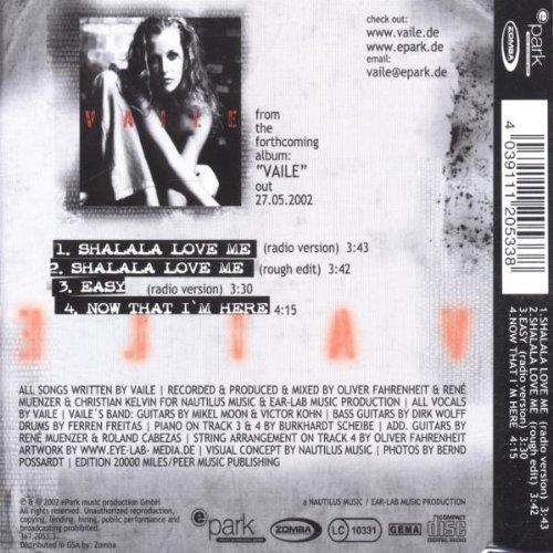 Bild 2: Vaile, Shalala love me (2002)
