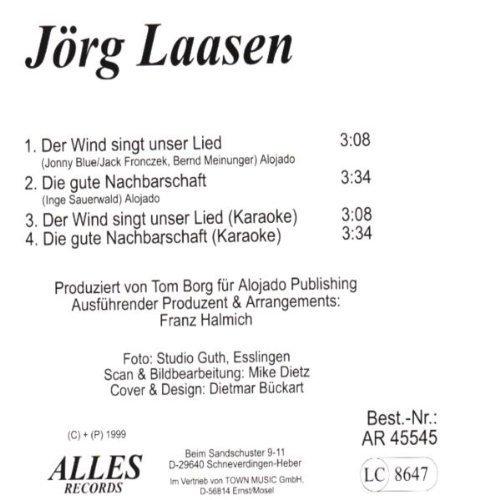 Bild 2: Jörg Laasen, Der Wind singt unser Lied