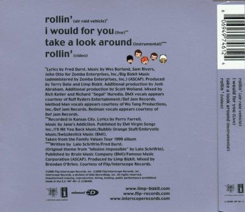 Bild 2: Limp Bizkit, Rollin' (2000, #4974612)
