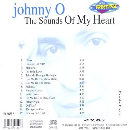 Bild 2: Johnny O., Sounds of my heart (2002)