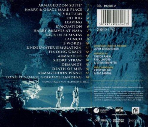 Bild 2: Trevor Rabin, Armageddon-The score (1998)