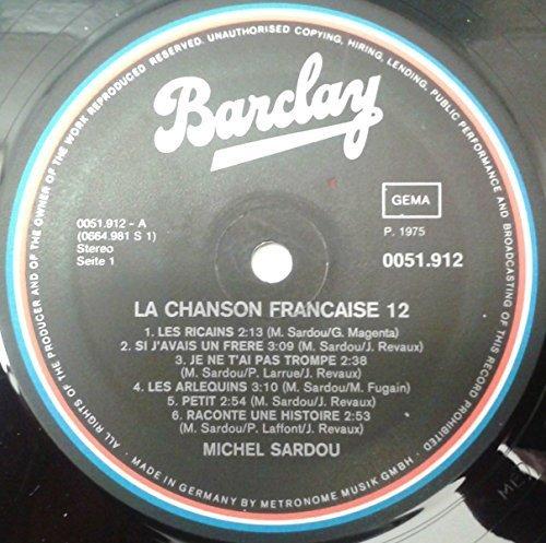 Bild 2: Michel Sardou, La chanson francaise 12