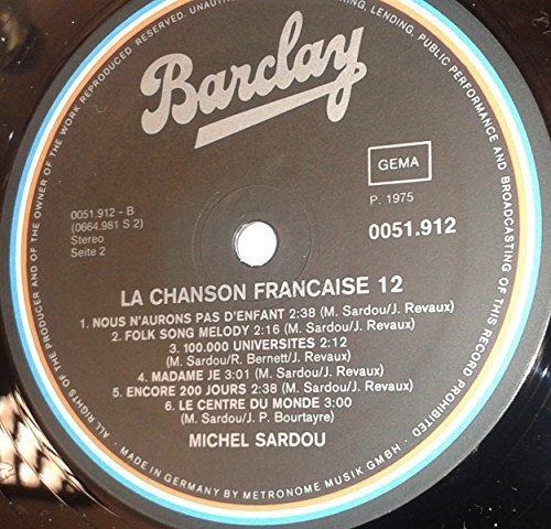 Bild 3: Michel Sardou, La chanson francaise 12