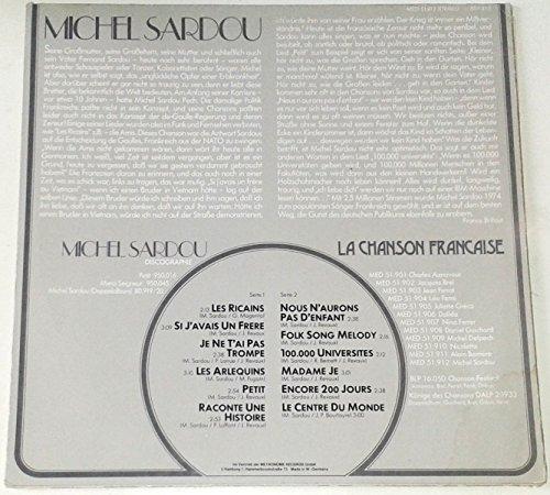 Bild 4: Michel Sardou, La chanson francaise 12