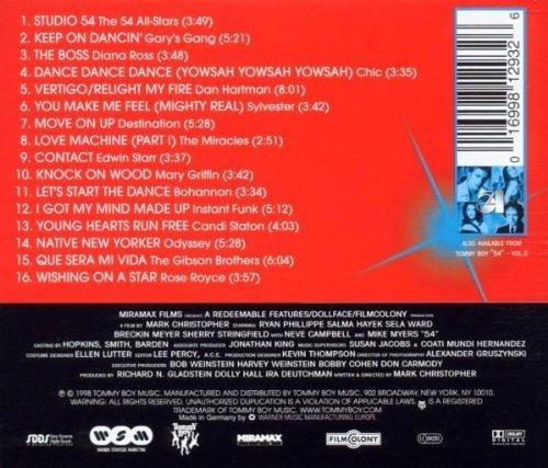 Bild 2: 54 Vol. 1 (1998), Stars on 54, Gary's Gang, Diana Ross, Chic, Bohannon..