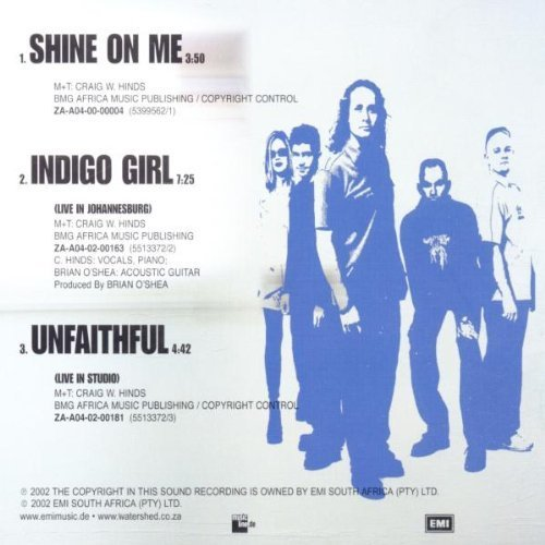 Bild 2: Watershed, Shine on me (2002)