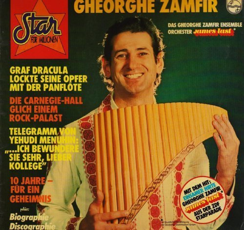 Bild 1: Gheorghe Zamfir, Star für Millionen