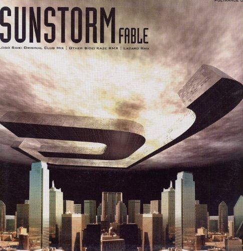 Bild 1: Sunstorm, Fable (Lazard Remix, 4 versions, 2002)