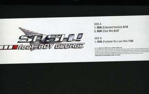 Фото 1: Sash!, Run (2002, feat. Boy George)