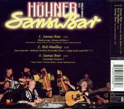 Bild 2: Höhner, Sansibar (2001, feat. Mama Afrika)