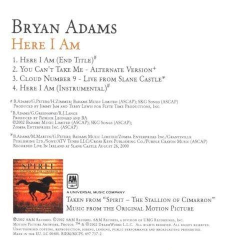 Bild 2: Bryan Adams, Here I am (2002)