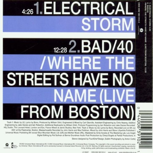 Bild 2: U2, Electrical storm (2002, #0639102)