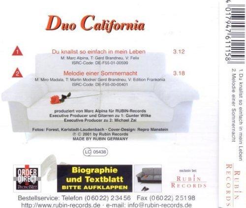 Фото 2: Duo California, Du knallst so einfach in mein Leben (2001)