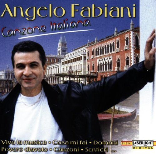 Bild 1: Angelo Fabiani, Canzone Italiana (compilation, 16 tracks, 1998)